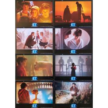 E.T. THE EXTRA-TERRESTRIAL Original Lobby Cards - 9x11,5 in. - 1982 - Steven Spielberg, Dee Wallace