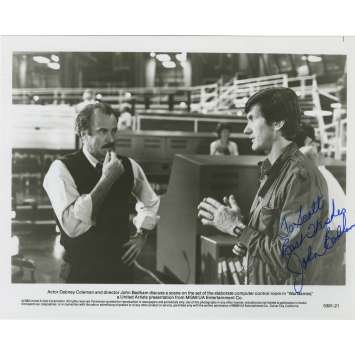 WAR GAMES Photo signée - 20x25 cm. - 1983 - Matthew Broderick, John Badham