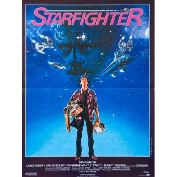 STARFIGHTER Synopsis - 40x60 cm. - 1984 - Lance Guest, Nick Castle
