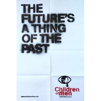 LES FILS DE L'HOMME Affiche de film - 69x102 cm. - 2006 - Clive Owens, Alfonso Cuaron
