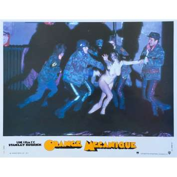 ORANGE MECANIQUE Photo de film N03 - 24x30 cm. - R1990 - Malcom McDowell, Stanley Kubrick