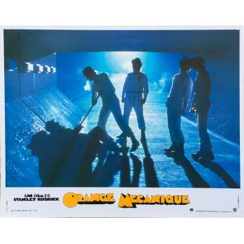 ORANGE MECANIQUE Photo de film N02 - 24x30 cm. - R1990 - Malcom McDowell, Stanley Kubrick
