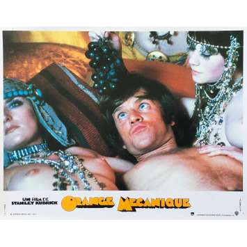 ORANGE MECANIQUE Photo de film N01 - 24x30 cm. - R1990 - Malcom McDowell, Stanley Kubrick