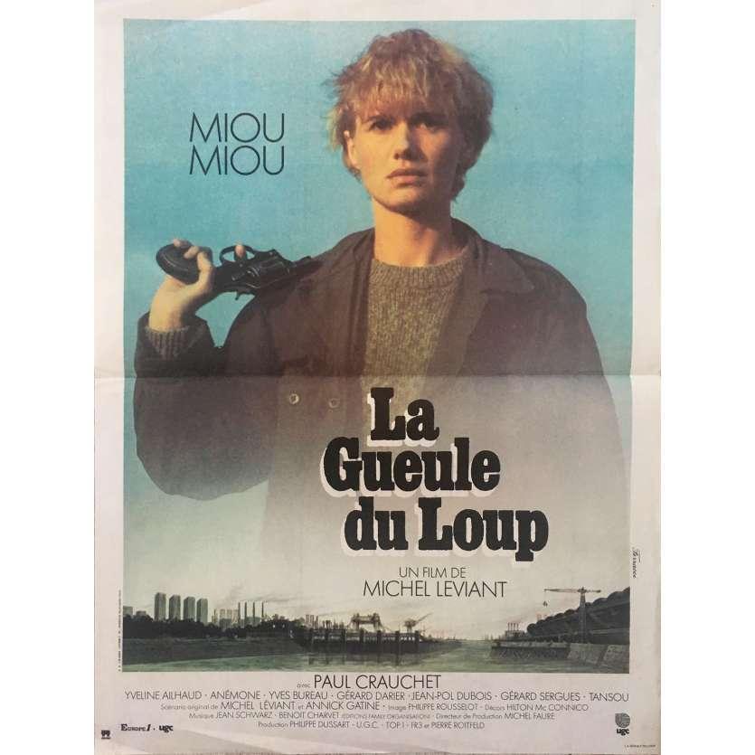LA GUEULE DU LOUP Affiche de film 40x60 - 1981 - Miou Miou