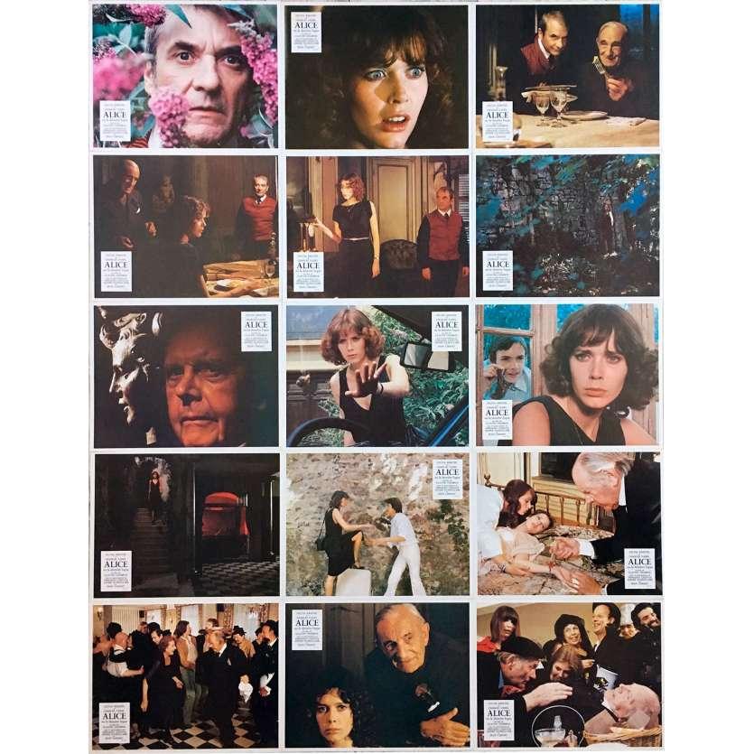 ALICE OR THE LAST ESCAPADE Original Lobby Cards x15 - 9x12 in. - 1977 - Claude Chabrol, Sylvia Kristel