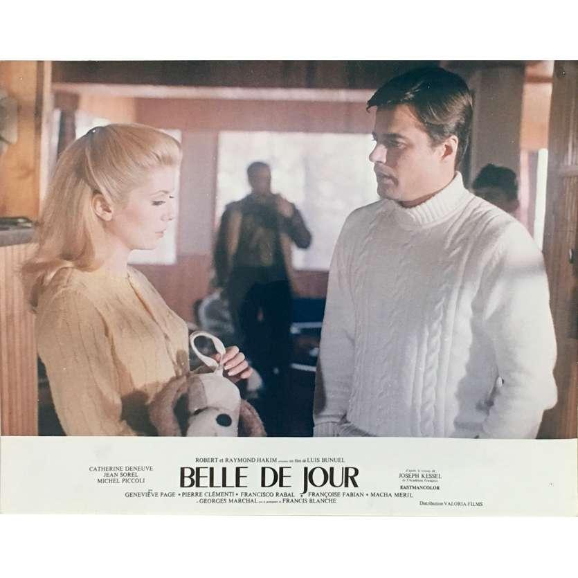 BELLE DE JOUR Original Lobby Card N02 - 10x12 in. - 1967 - Luis Bunuel, Catherine Deneuve