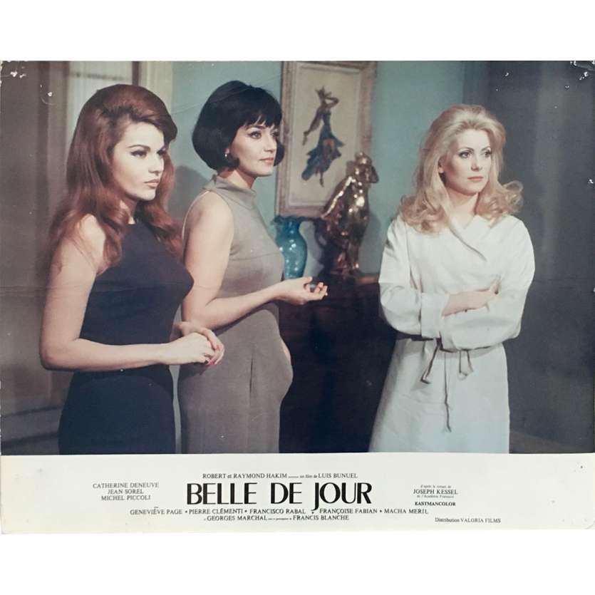 BELLE DE JOUR Original Lobby Card N01 - 10x12 in. - 1967 - Luis Bunuel, Catherine Deneuve