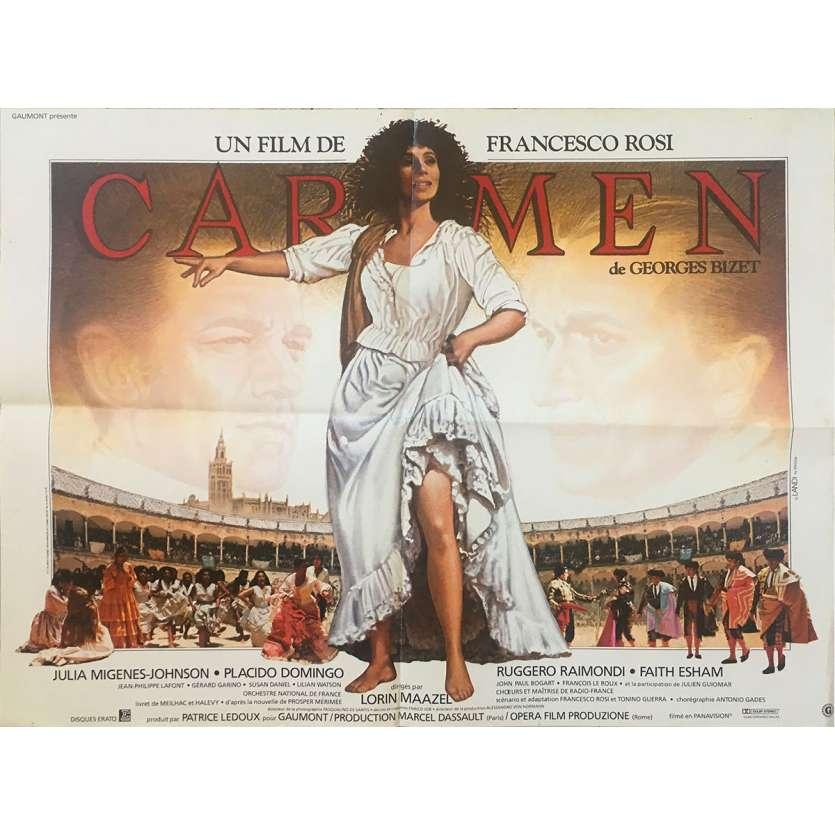 CARMEN Affiche de film - 60x80 cm. - 1984 - Julia Migenes, Francesco Rosi