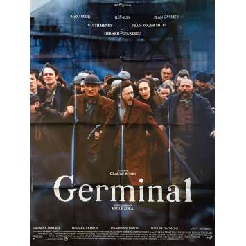 GERMINAL Original Movie Poster - 47x63 in. - 1993 - Claude Berri, Renaud Sechan
