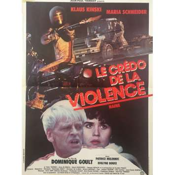 KILLER TRUCK Original Movie Poster - 15x21 in. - 1980 - Dominique Goult, Klaus Kinski