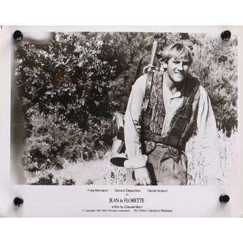 JEAN DE FLORETTE Photo de presse N04 - 20x25 cm. - 1986 - Yves Montand, Gérard Depardieu, Claude Berri