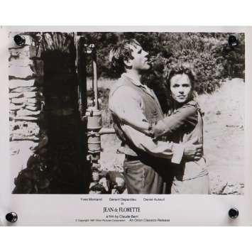 JEAN DE FLORETTE Photo de presse N03 - 20x25 cm. - 1986 - Yves Montand, Gérard Depardieu, Claude Berri