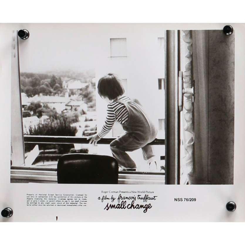 SMALL CHANGE Original Movie Still N09 - 8x10 in. - 1976 - François Truffaut, Georges Desmouceaux