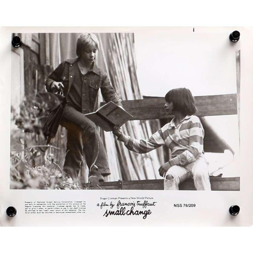 L'ARGENT DE POCHE Photo de presse N08 - 20x25 cm. - 1976 - Georges Desmouceaux, François Truffaut