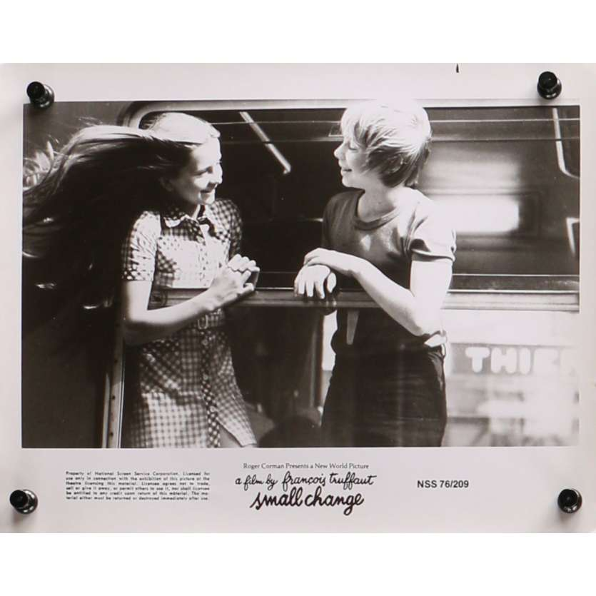 L'ARGENT DE POCHE Photo de presse N07 - 20x25 cm. - 1976 - Georges Desmouceaux, François Truffaut