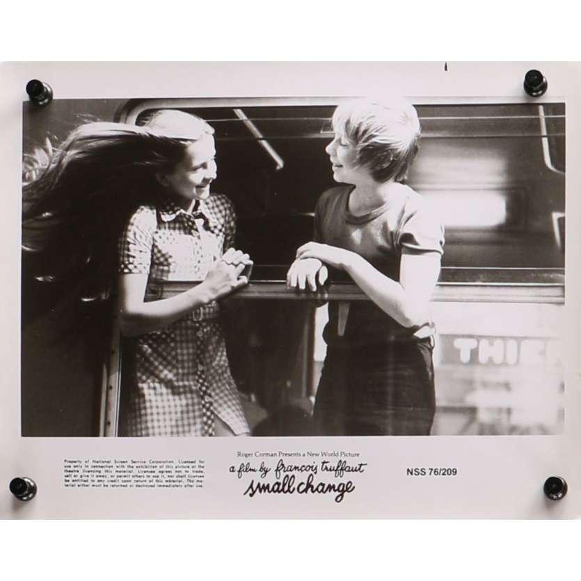 SMALL CHANGE Original Movie Still N07 - 8x10 in. - 1976 - François Truffaut, Georges Desmouceaux