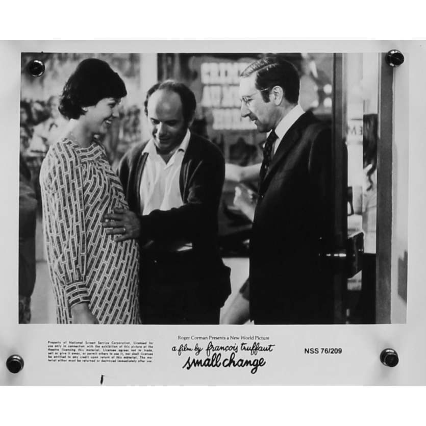 SMALL CHANGE Original Movie Still N06 - 8x10 in. - 1976 - François Truffaut, Georges Desmouceaux