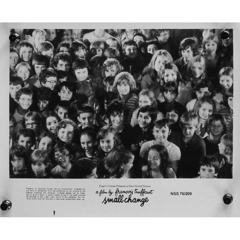 SMALL CHANGE Original Movie Still N05 - 8x10 in. - 1976 - François Truffaut, Georges Desmouceaux