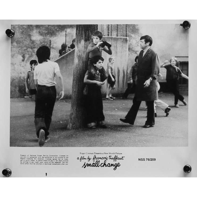 SMALL CHANGE Original Movie Still N03 - 8x10 in. - 1976 - François Truffaut, Georges Desmouceaux