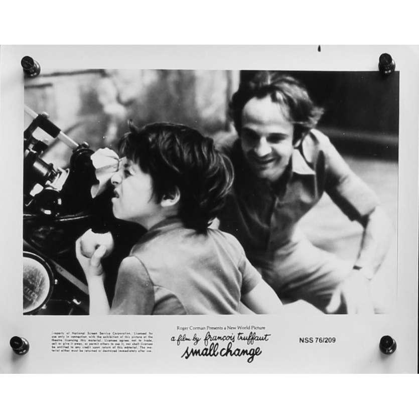 L'ARGENT DE POCHE Photo de presse N01 - 20x25 cm. - 1976 - Georges Desmouceaux, François Truffaut