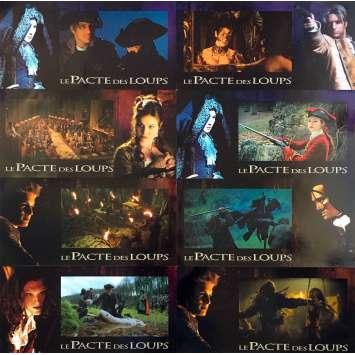 LE PACTE DES LOUPS Photos de film x8 - 21x30 cm. - 2001 - Mark Dacascos, Christophe Gans