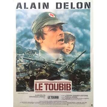 THE MEDIC Original Movie Poster - 15x21 in. - 1979 - Pierre Granier-Deferre, Alain Delon