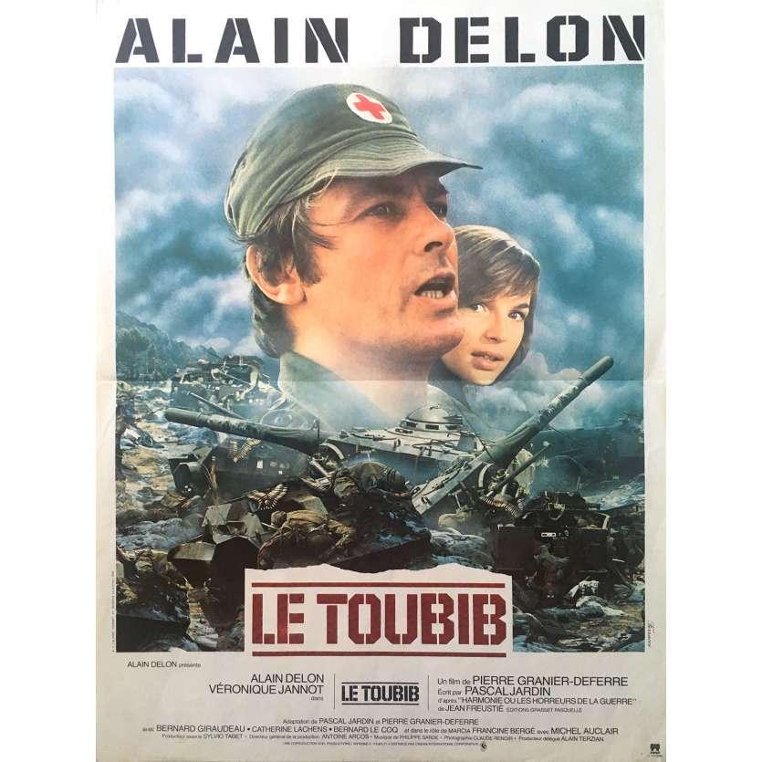 LE TOUBIB Affiche de film - 40x60 cm. - 1979 - Alain Delon, Pierre Granier-Deferre