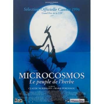 MICROCOSMOS Original Movie Poster - 15x21 in. - 1996 - Claude Nuridsany, Marie Pérennou, Kristin Scott Thomas