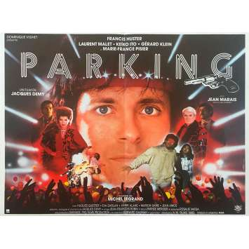 PARKING Original Movie Poster - 15x21 in. - 1985 - Jacques Demy, Francis Huster