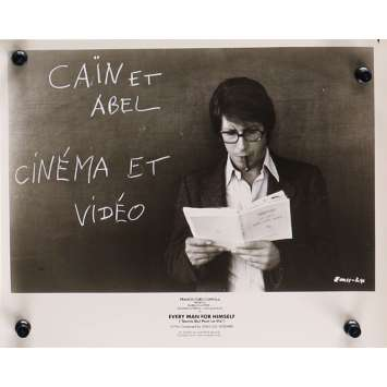 EVERY MAN FOR HIMSELF Original Movie Still N10 - 8x10 in. - 1980 - Jean-Luc Godard, Isabelle Huppert, Jacques Dutronc