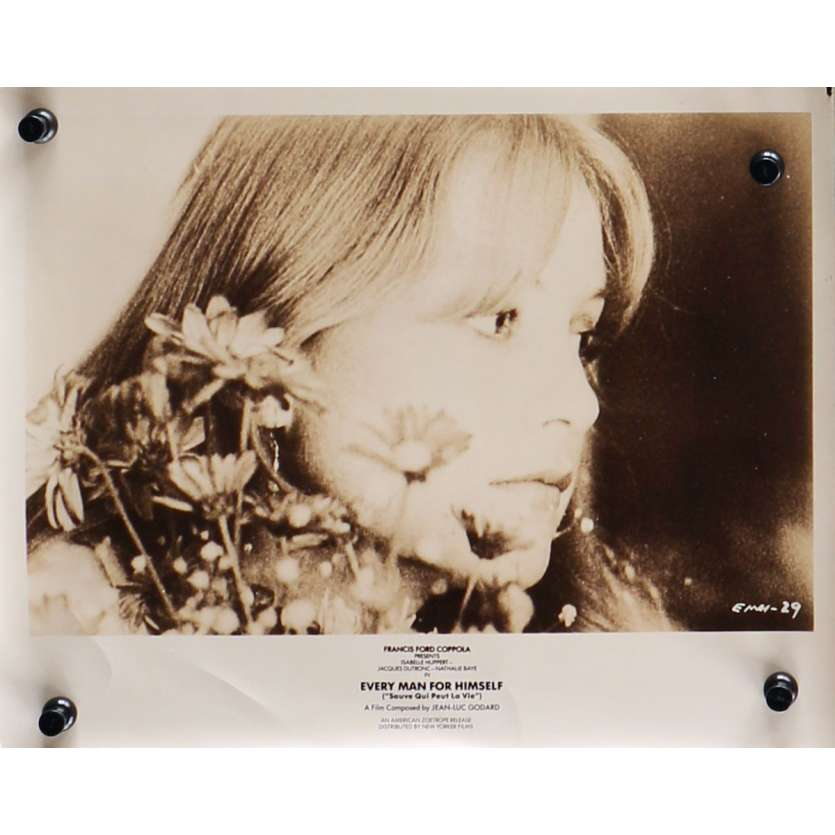 SAUVE QUI PEUT LA VIE Photo de presse N09 - 20x25 cm. - 1980 - Isabelle Huppert, Jacques Dutronc, Jean-Luc Godard
