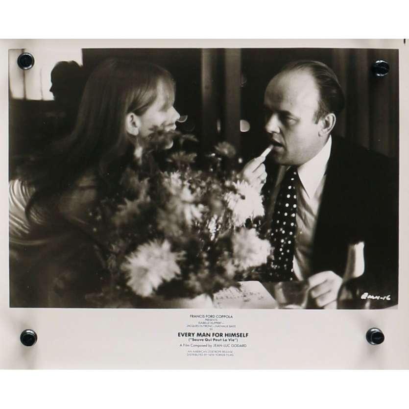 SAUVE QUI PEUT LA VIE Photo de presse N04 - 20x25 cm. - 1980 - Isabelle Huppert, Jacques Dutronc, Jean-Luc Godard
