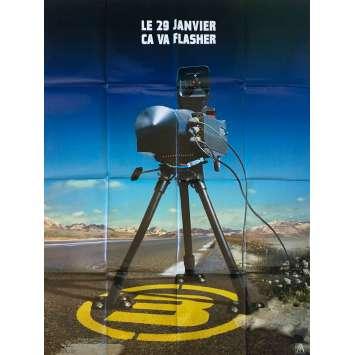 TAXI 3 Affiche de film Prev. - 120x160 cm. - 2003 - Samy Naceri, Frédéric Diefenthal, Gérard Krawczyk