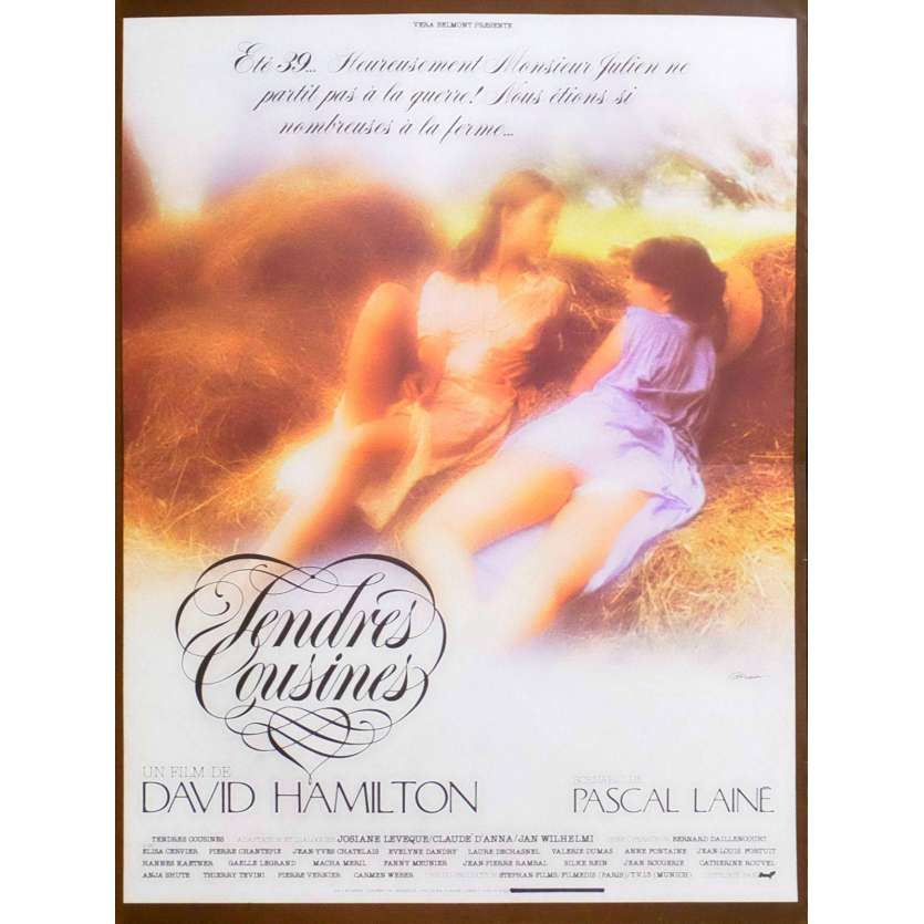 COUSINS IN LOVE French Movie Poster 15x21 - 1980 - David Hamliton, Anja Shute
