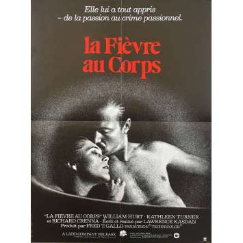 BODY HEAT Movie Poster - Original French One Panel