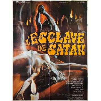 ESCLAVE DE SATAN Affiche de film - 120x160 cm. - 1976 - Michael Gough, Norman J. Warren