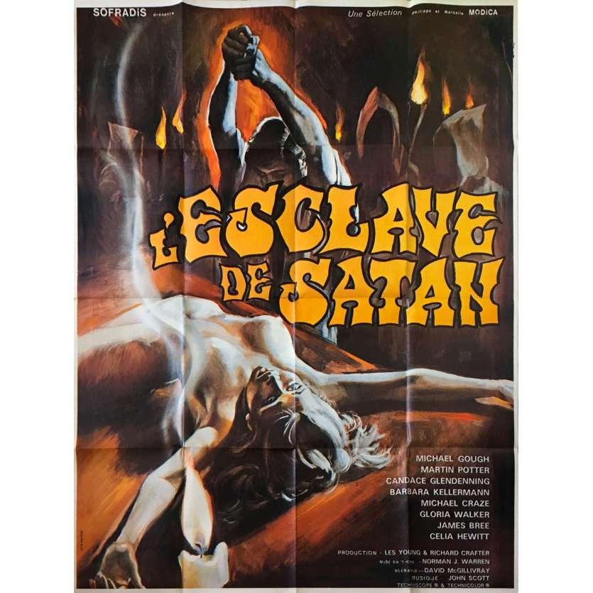 SATAN'S SLAVE Original Movie Poster - 47x63 in. - 1976 - Norman J. Warren, Michael Gough