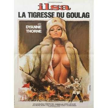 ILSA LA TIGRESSE DU GOULAG Affiche de film - 40x60 cm. - 1977 - Dyanne Thorne, Jean LaFleur