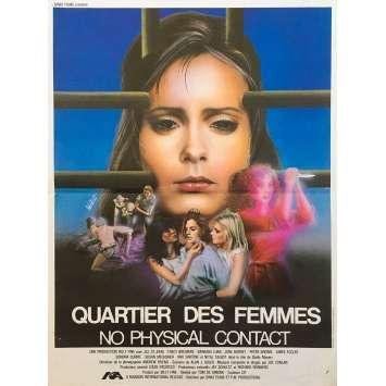 THE CONCRETE JUNGLE Original Movie Poster - 15x21 in. - 1982 - Tom DeSimone, Jill St. John