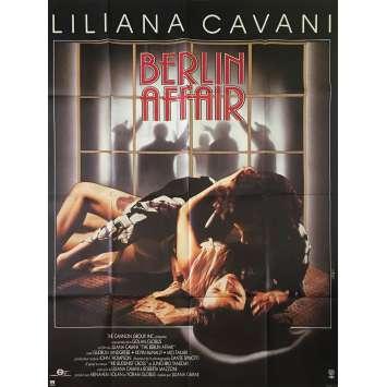 BERLIN AFFAIR Affiche de film - 120x160 cm. - 1985 - Gudrun Landgrebe, Liliana Cavani
