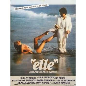 ELLE Affiche de film - 40x60 cm. - 1979 - Bo Derek, Blake Edwards