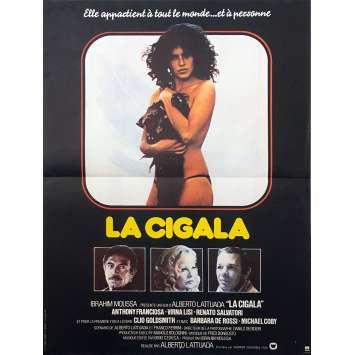LA CIGALA Affiche de film - 40x60 cm. - 1979 - Anthony Franciosa, Alberto Lattuada