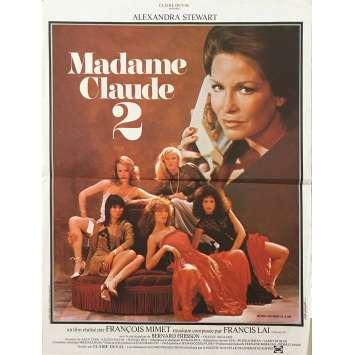 INTIMATE MOMENTS Original Movie Poster - 15x21 in. - 1981 - François Mimet, Alexandra Stewart