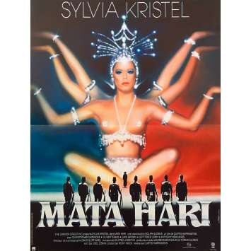 MATA HARI Original Movie Poster - 15x21 in. - 1964 - Jean-Louis Richard, Jeanne Moreau
