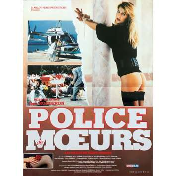 SAINT TROPEZ VICE Original Movie Poster - 15x21 in. - 1987 - Jean Rougeron, Yves Jouffroy