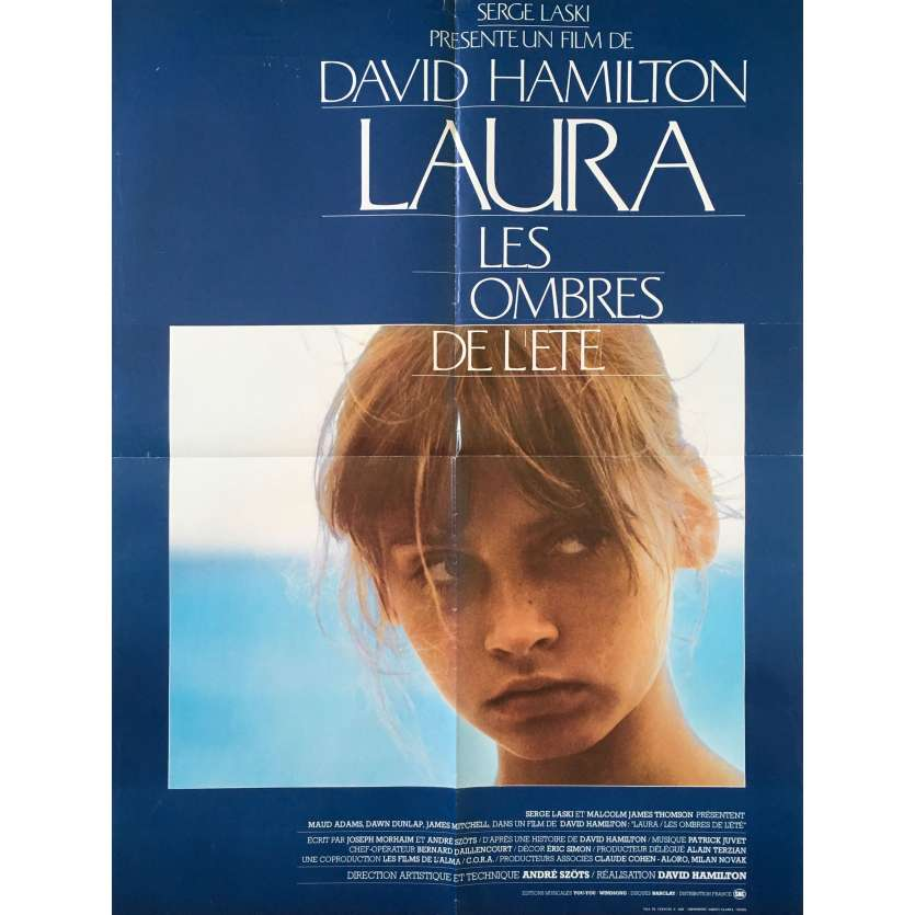 LAURA Original Movie Poster Style B - 23x32 in. - 1979 - David Hamilton, Maud Adams