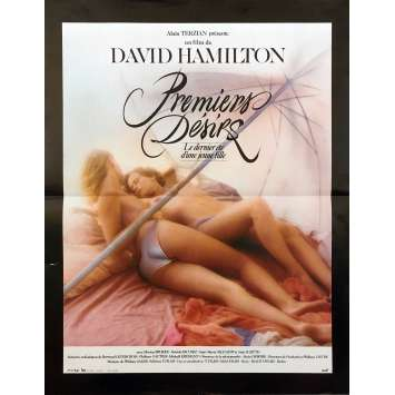 FIRST DESIRES Original Movie Poster - 15x21 in. - 1983 - David Hamilton, Monica Broeke, Patrick Bauchau