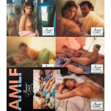 FIRST DESIRES Original Lobby Cards x5 - 9x12 in. - 1983 - David Hamilton, Monica Broeke, Patrick Bauchau