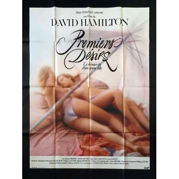 FIRST DESIRES Original Movie Poster - 47x63 in. - 1983 - David Hamilton, Monica Broeke, Patrick Bauchau