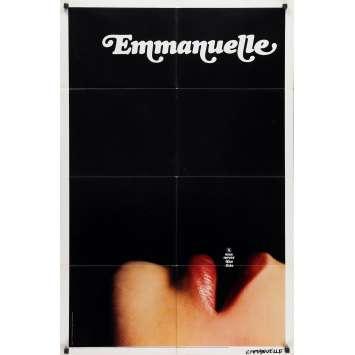 EMMANUELLE Affiche de film - 69x102 cm. - 1974 - Sylvia Kristel, Just Jaeckin